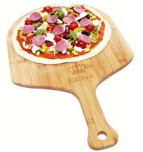 Pizza Royale Ethically Sourced Premium Natural Bamboo Pizza Peel