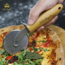 Load image into Gallery viewer, Royale Ethically Sourced Premium Natural Bamboo Pizza Cutter Wheel