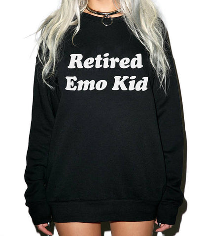 PREMIUM UK KNITTED =HOODY HOODIE CHECK CHECKED JUMPER SWEATER HOODED EMO SKATER