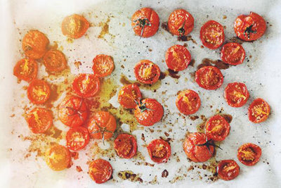 Ridiculously Delicious Slow Roasted Tomatoes