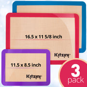 Silicone Baking Mat Set (3)