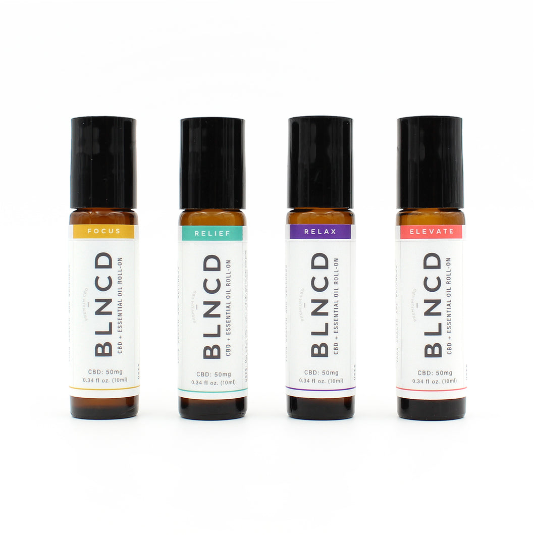 CBD + Essential Oil Roll-On - Discovery Kit