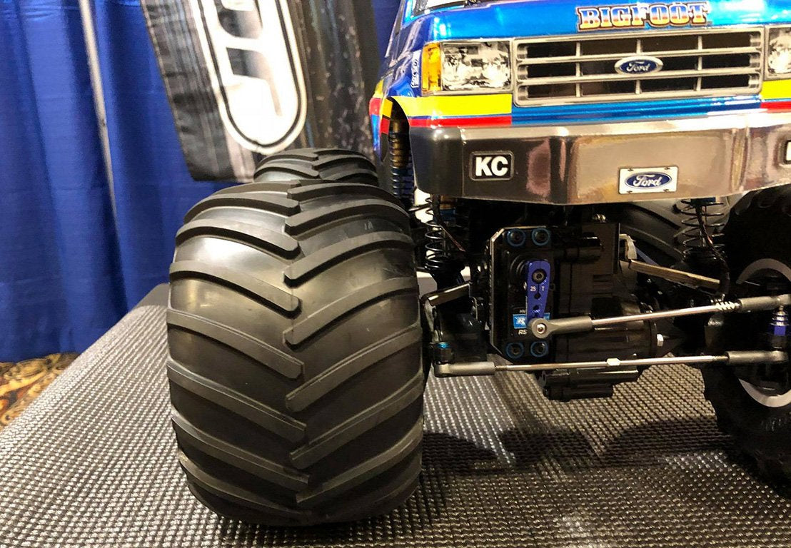 "JConcepts Shows off new ""Golden Year"" Monster Truck Tires"