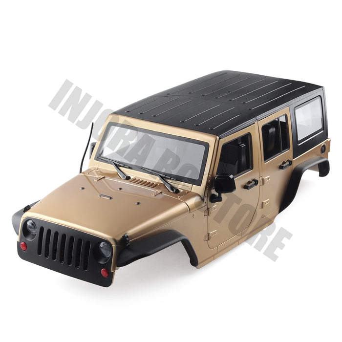 Hard Body 313mm Wheelbase JKU Jeep Wrangler Unlimited Body