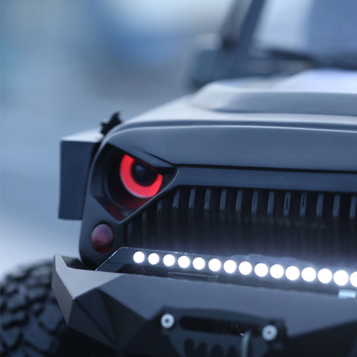Angel Eye Headlights for Jeep Wrangler body