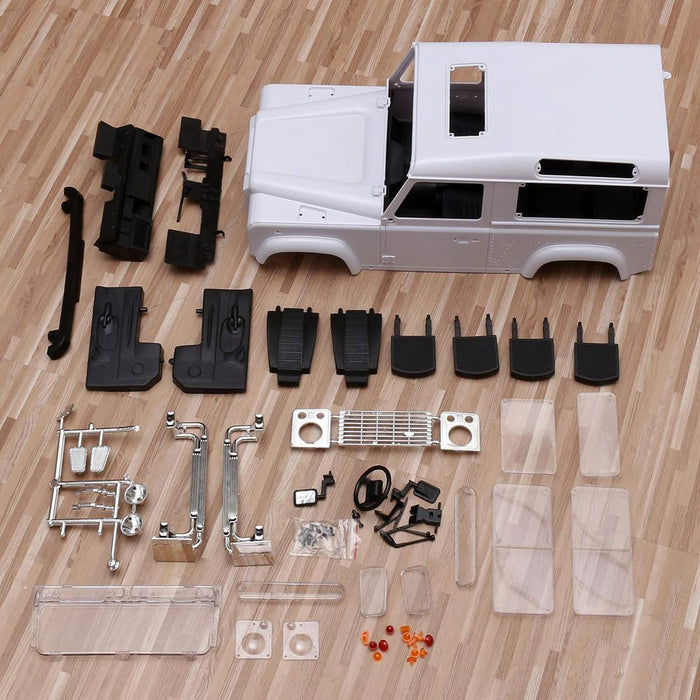 Xtra Speed D90 Hard Plastic Body Shell Kit For 1/10 AXIAL SCX10 RC4WD