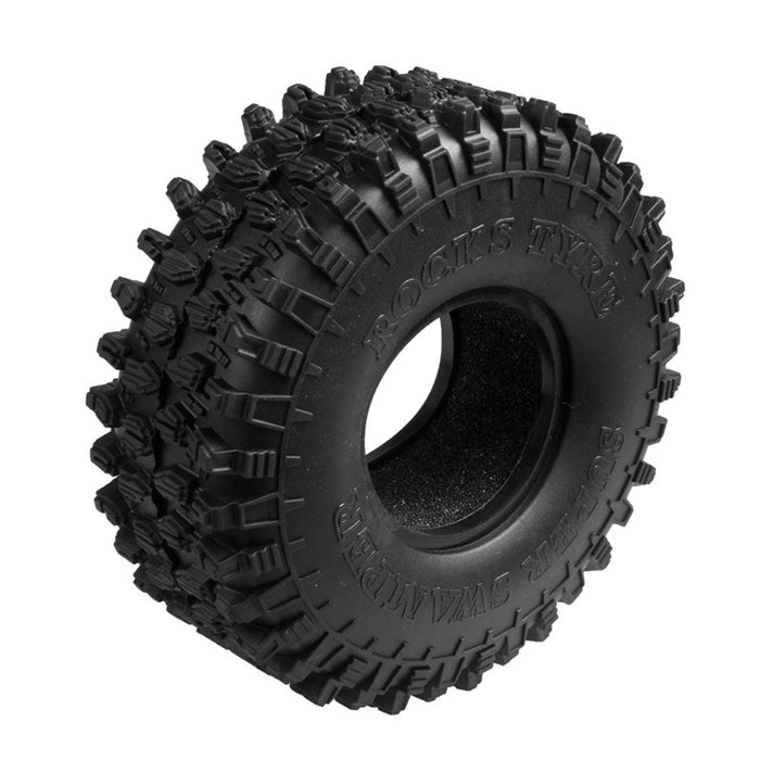 1.9'' 120MM Soft Hyrax style Tire For 1:10 RC Rock Crawler | 4pcs