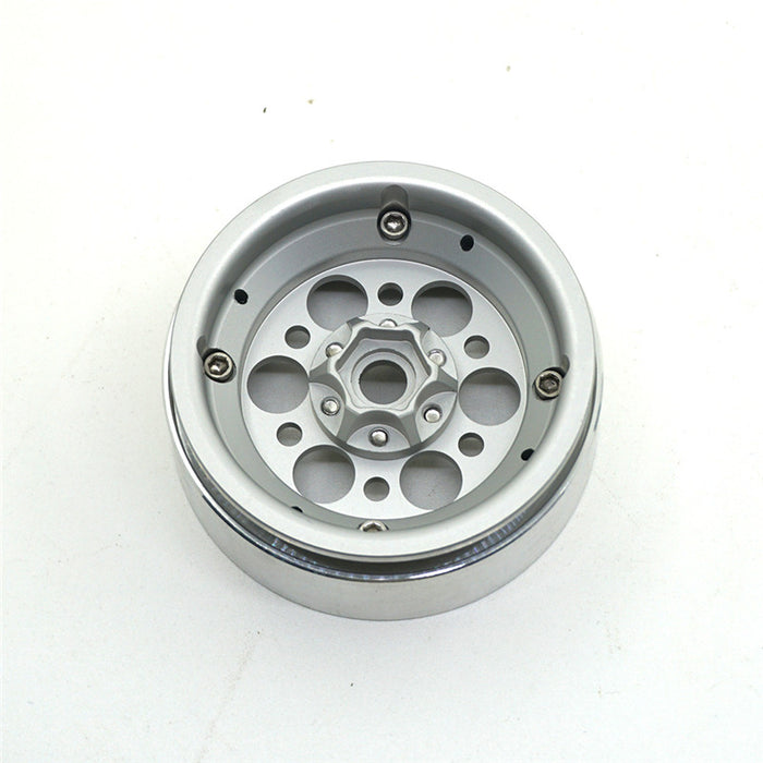 OMF style 6 hole 2.2 alloy bead lock wheels