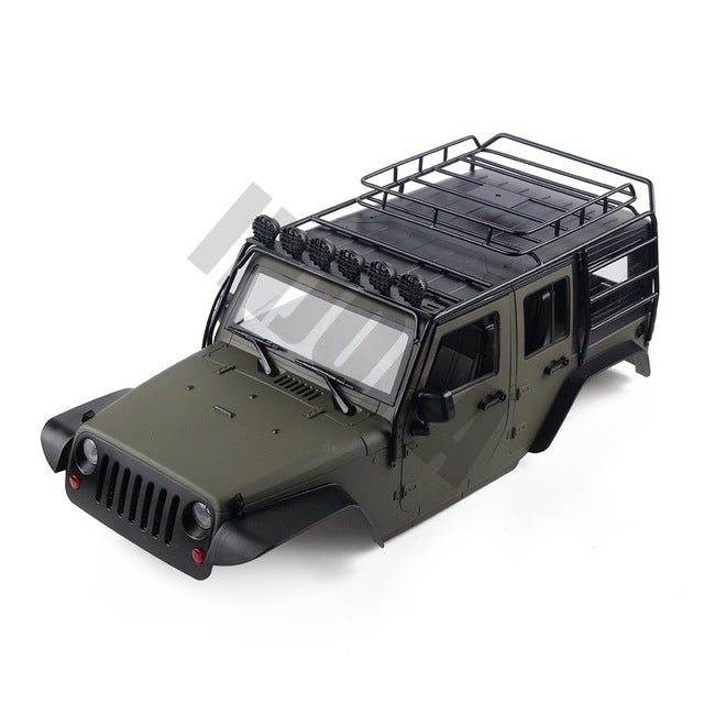 313mm Wheelbase Jeep JKU Wrangler Unlimited Body Shell