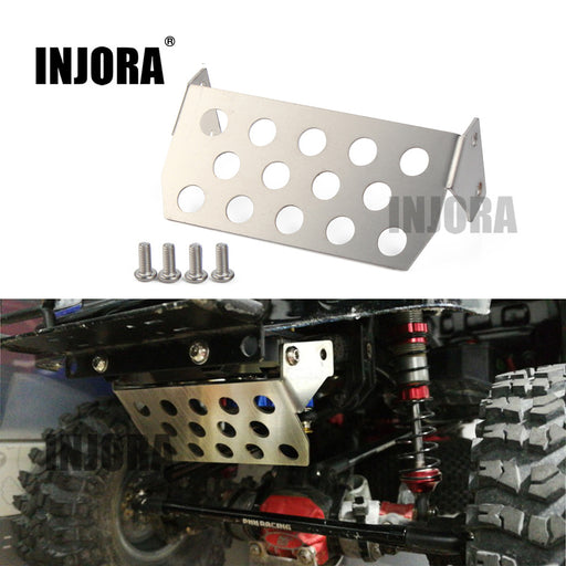 Stainless Steel Front Chassis Protector Plate for Axial SCX10 II 90046 90047 90059 90060