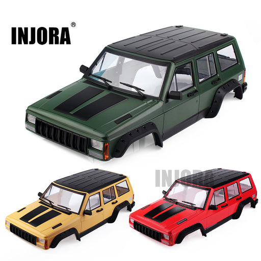 Jeep Cherokee XJ Painted Hardbody Plastic | 313mm Wheelbase