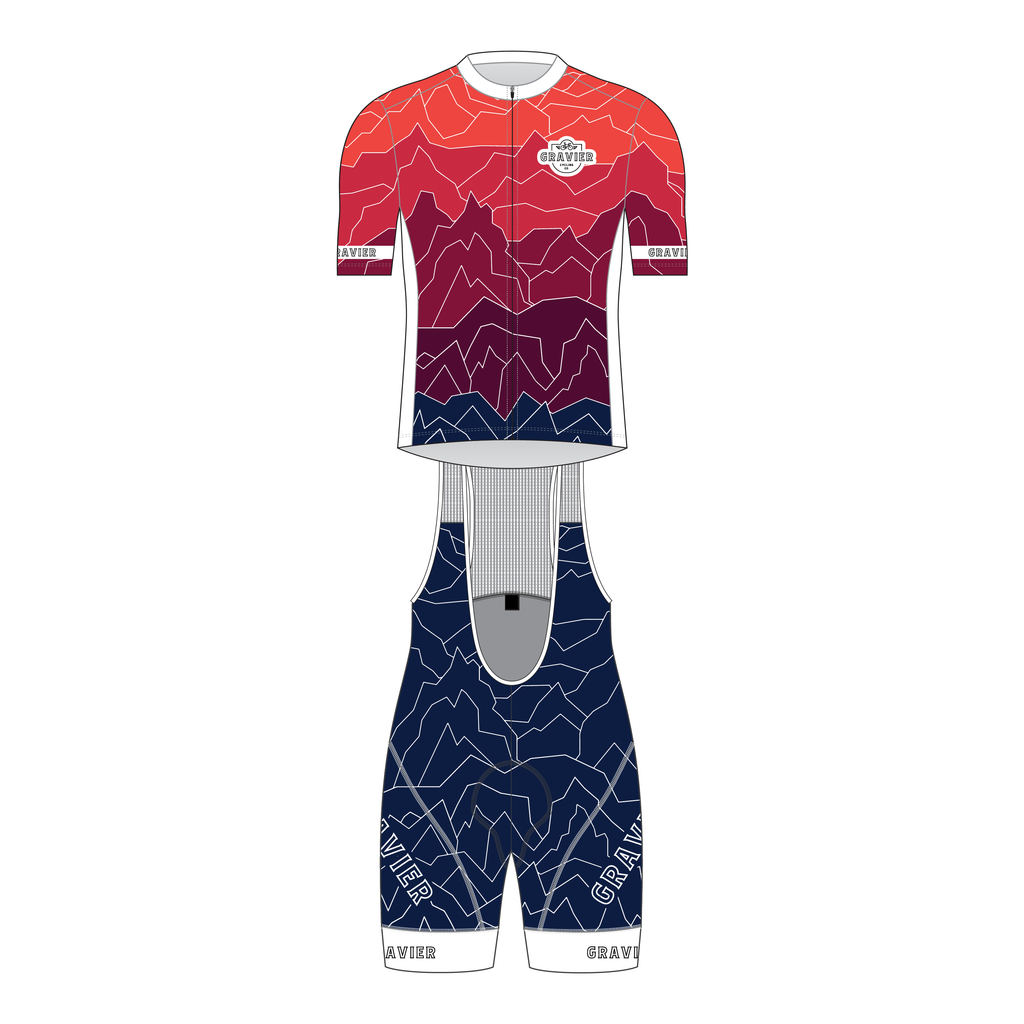 Gravier Men's Full Kit - Mt Gradient