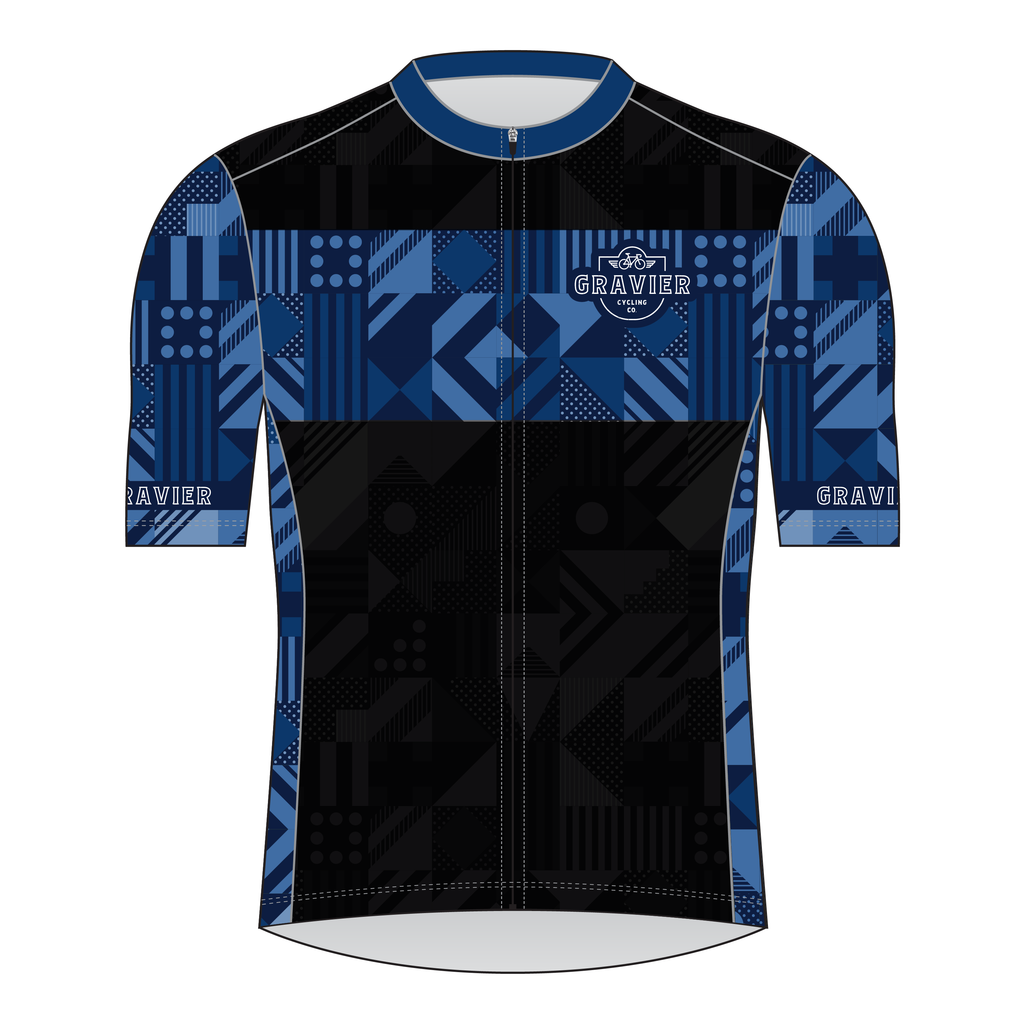Gravier Men's Cycling Jersey - Micro Geo