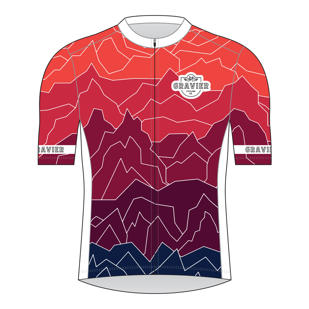 Gravier Men's Cycling Jersey - Mt Gradient