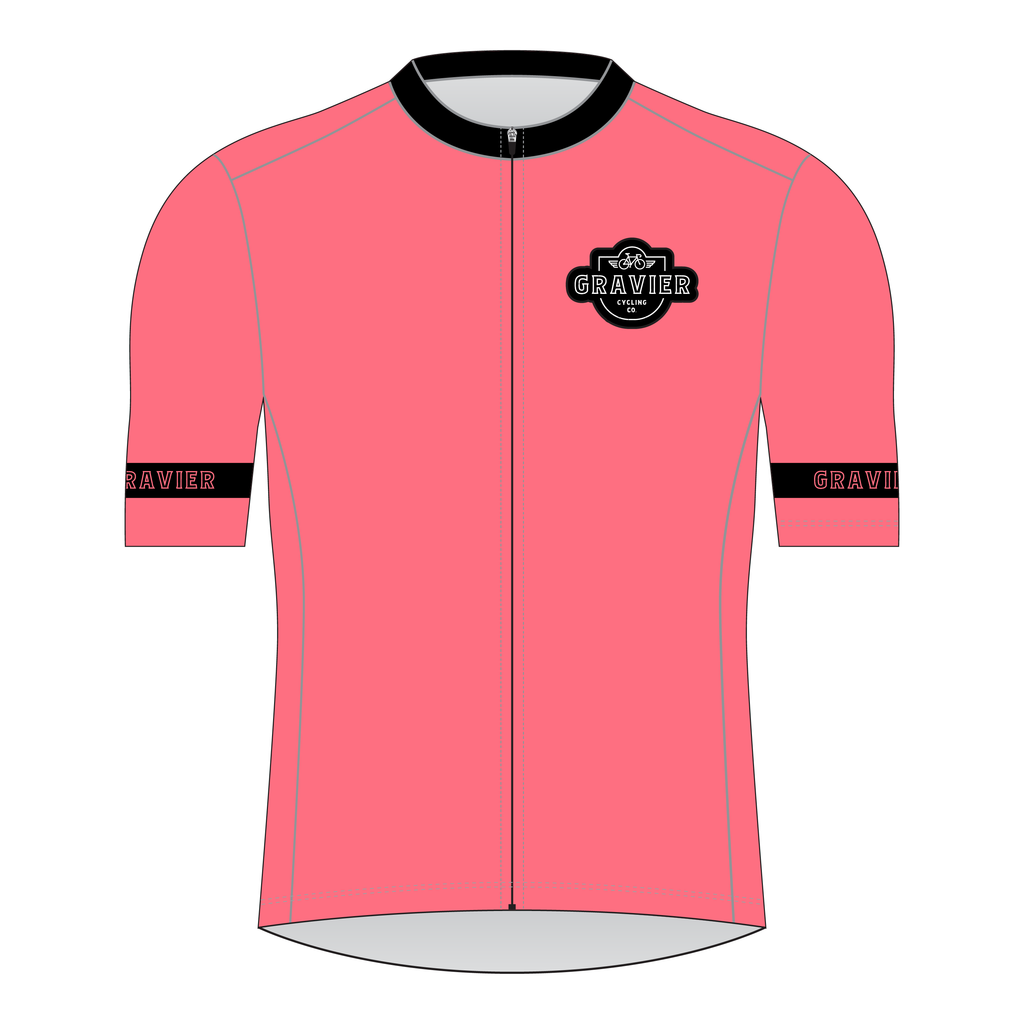Gravier Women's Cycling Jersey - Salmon Core