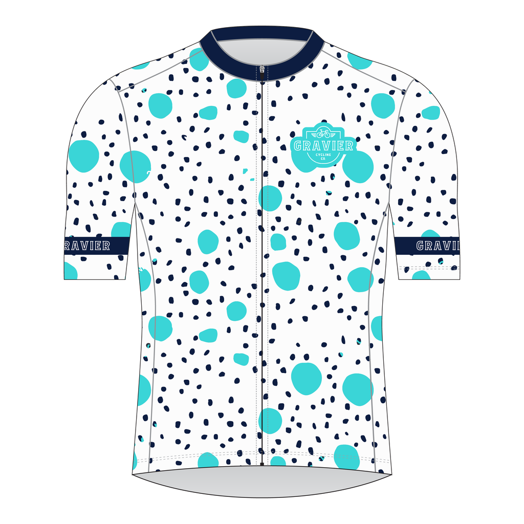Gravier Women's Cycling Jersey - Specks