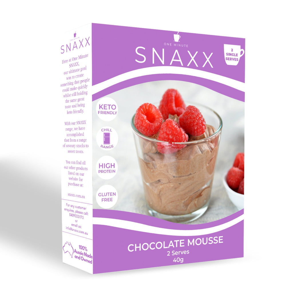 One Minute Mousse - 2 Pack - SNAXX