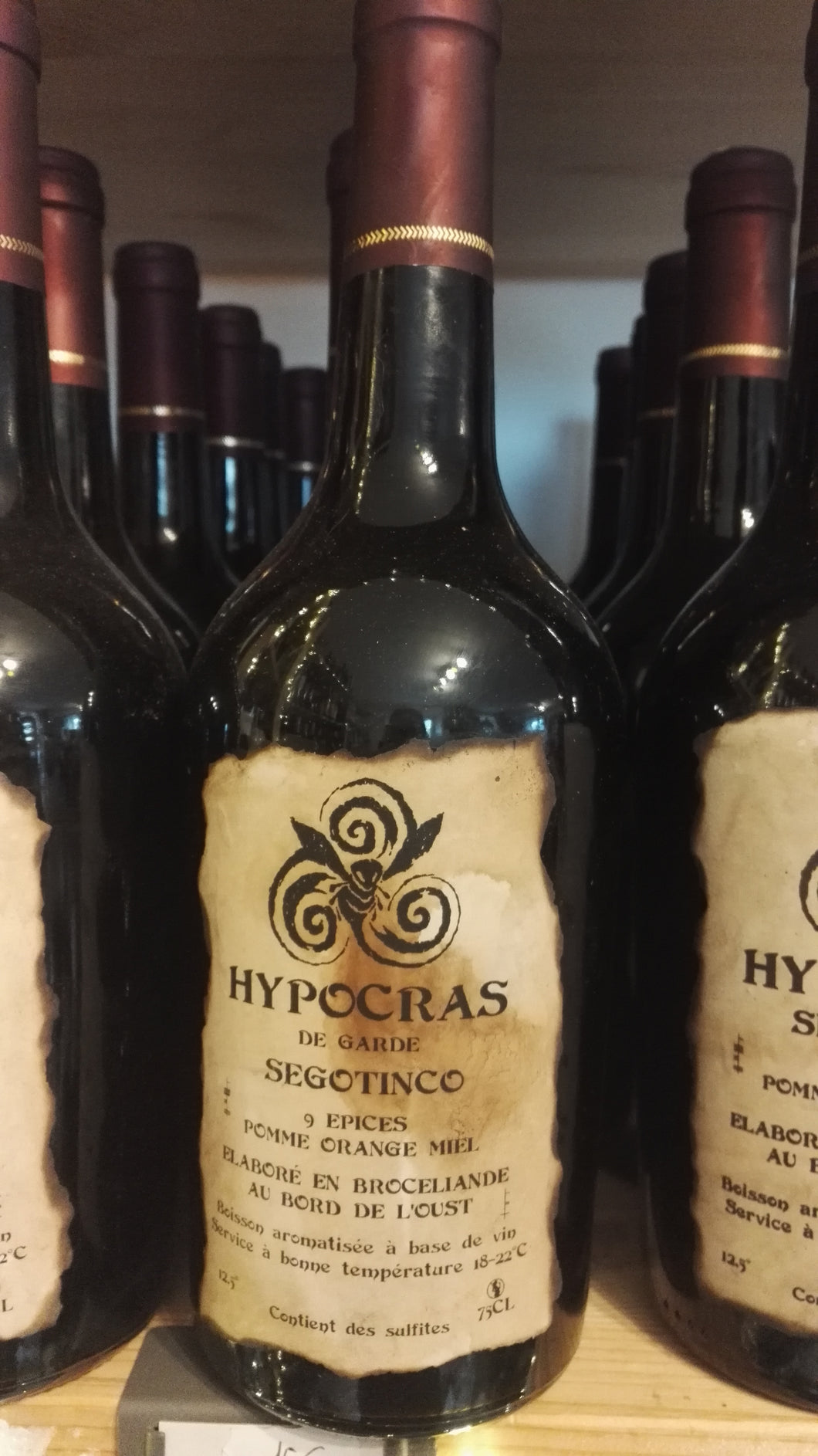Hypocras Segotinco 75cl - local et artisanal