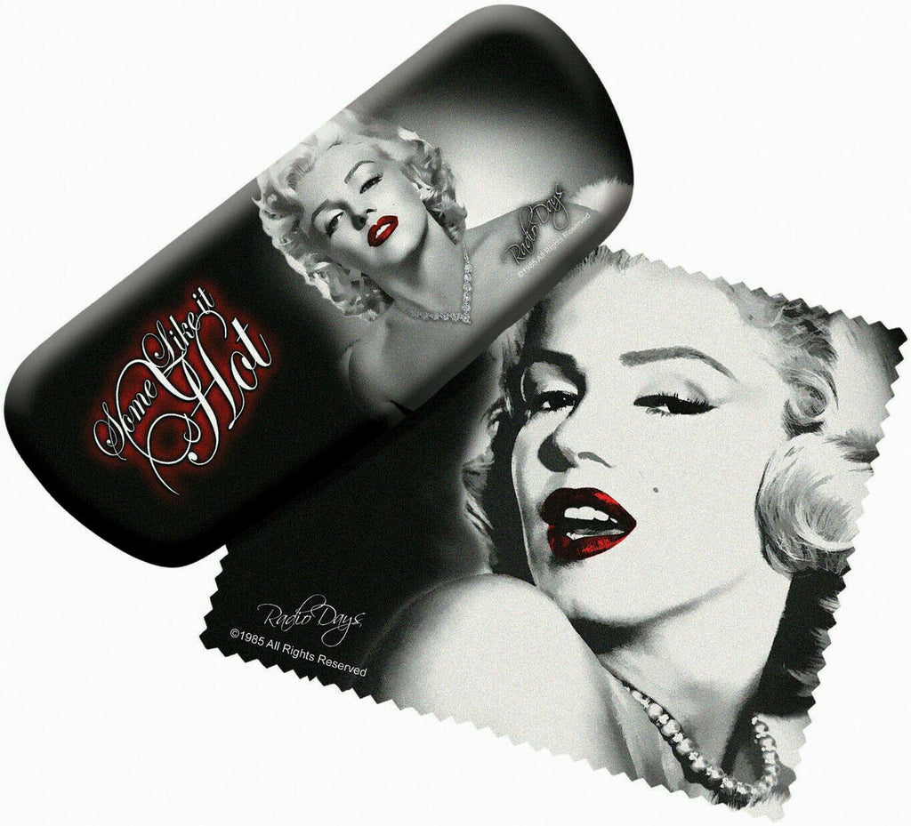 Spoontiques 13665 Padded Marilyn Monroe Eye Glass Case with Matching Lens Cloth