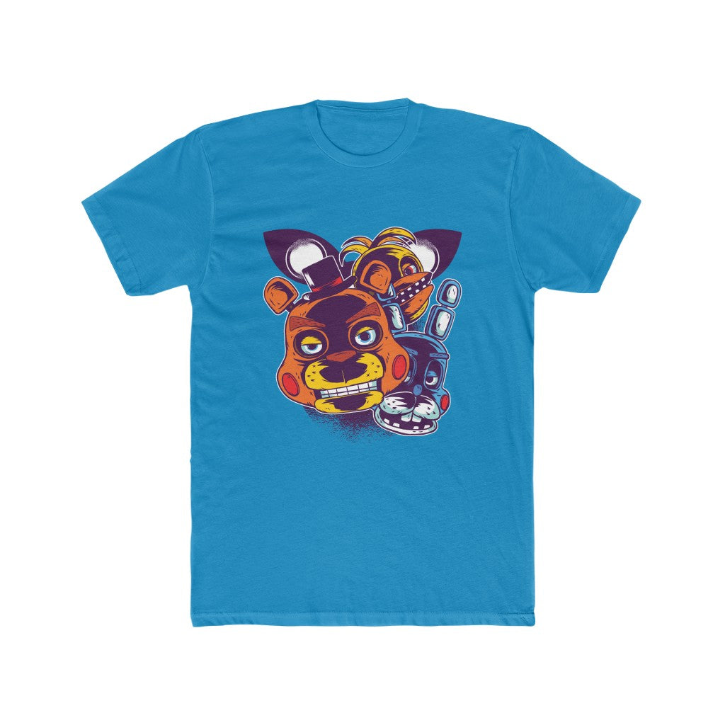 Five Nights At Freddy's (2) Men's Cotton Crew Tee