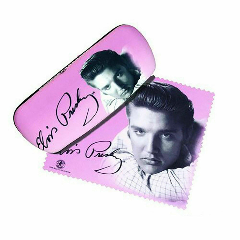 Spoontiques 13625 Elvis Presley Eyeglass Case and Cleaner