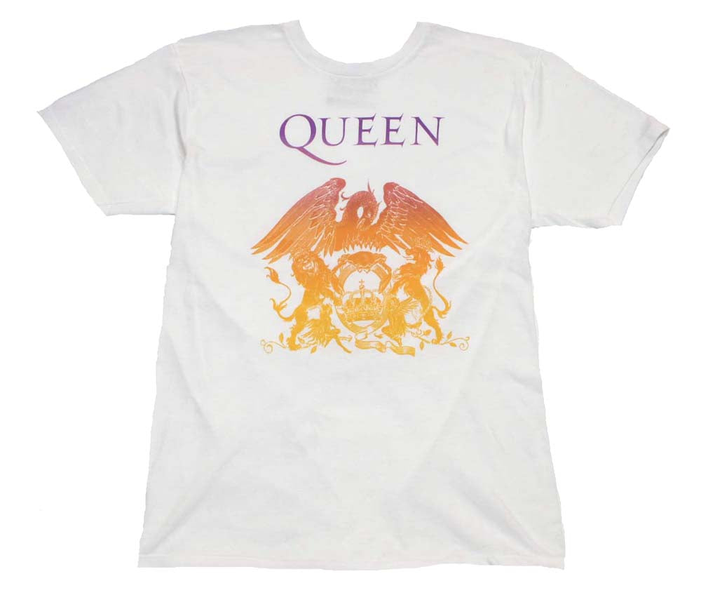 Queen Crest White T-Shirt