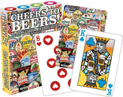 Cheers For Beers Playing Cards