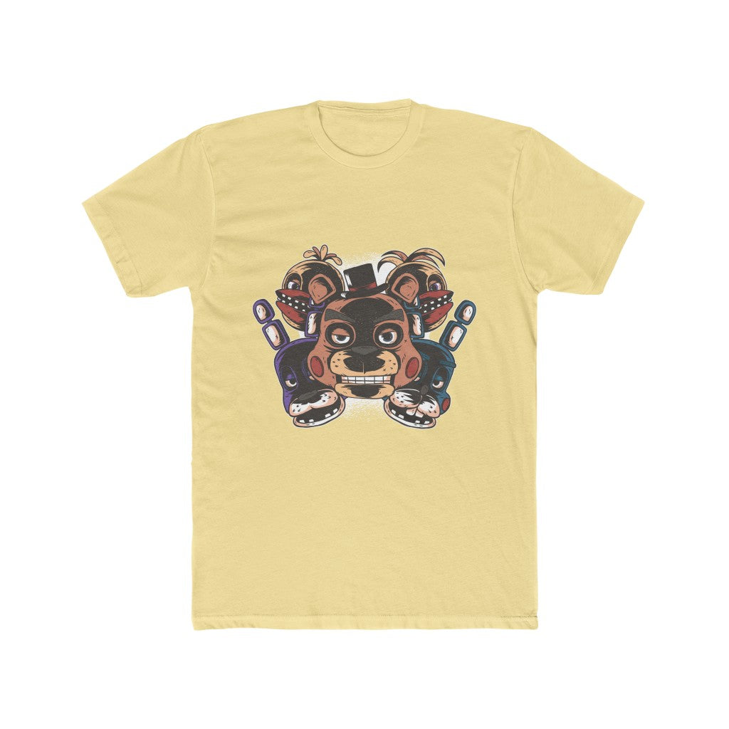 Five Nights At Freddy's Men's Cotton Crew Tee