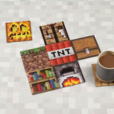 Minecraft Block Double Sided Coasters