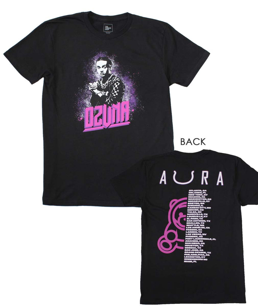 Ozuna Aura Tour Black T-Shirt