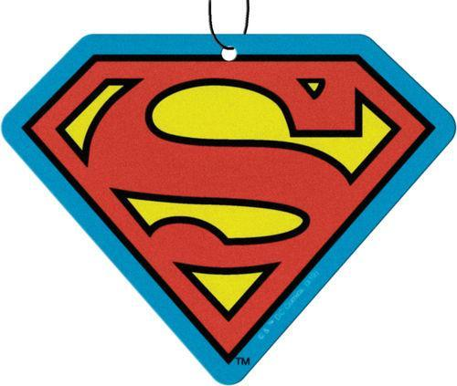 Superman Logo Air Freshener 3 Pack