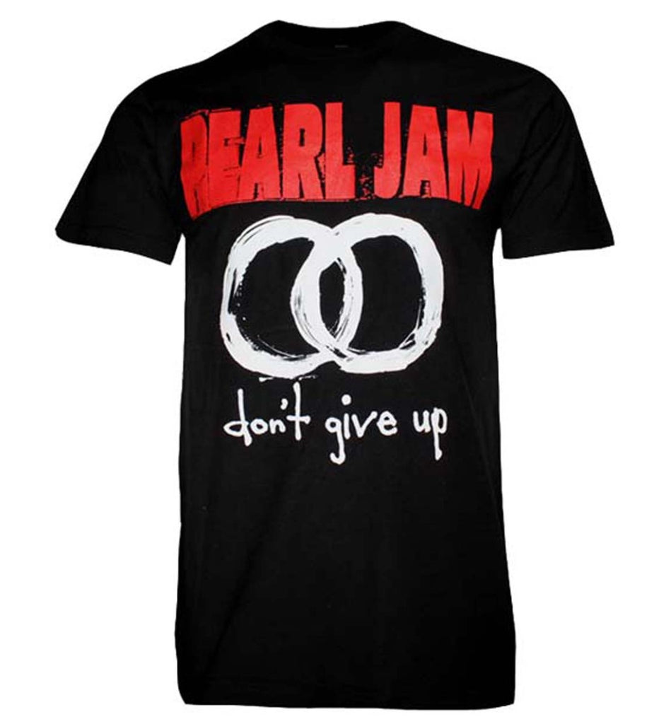 Pearl Jam Don't Give UP T-shirt