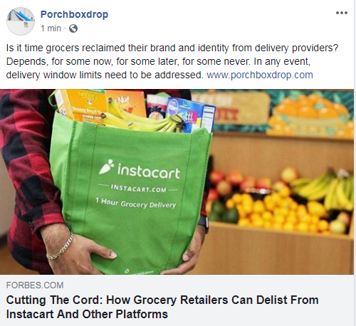 IMPORTANT FOR GROCERS - CLICK BELOW - ACCESS BY DIRECT LINK OR OUR FACEBOOK PAGE