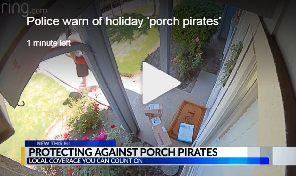 Just Google Porch Pirates...More Info Than You Can Handle!