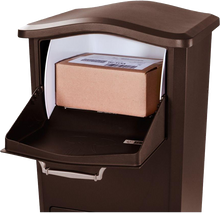 Load image into Gallery viewer, Parcel Box Receiving Station for Home, Business or Apartment - Anchors to Floor - (NO REFRIGERATION OPTION AVAILABLE)