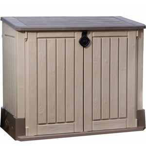 Mid-Size PorchBoxDrop, Lockable Receiving Storage for Yard, Deck, Garage or Porch (Can Contain Freezer/Refrig)