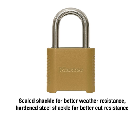 Resettable Combination Weather Resistant Master Padlock