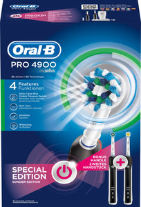 Oral-B PRO4900 Duo Black - To tannbørster