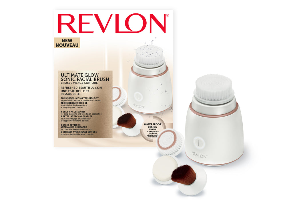Revlon Ultimate Glow Clean and Make up Sonic Facial Brush