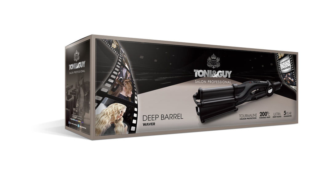 Toni&Guy Salon Professional Glamour Deep Barrel Waver