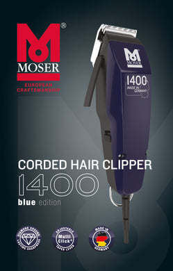 Moser 1400 Blue Edition