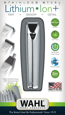 Wahl Lithium Stainless Steel Trimmer