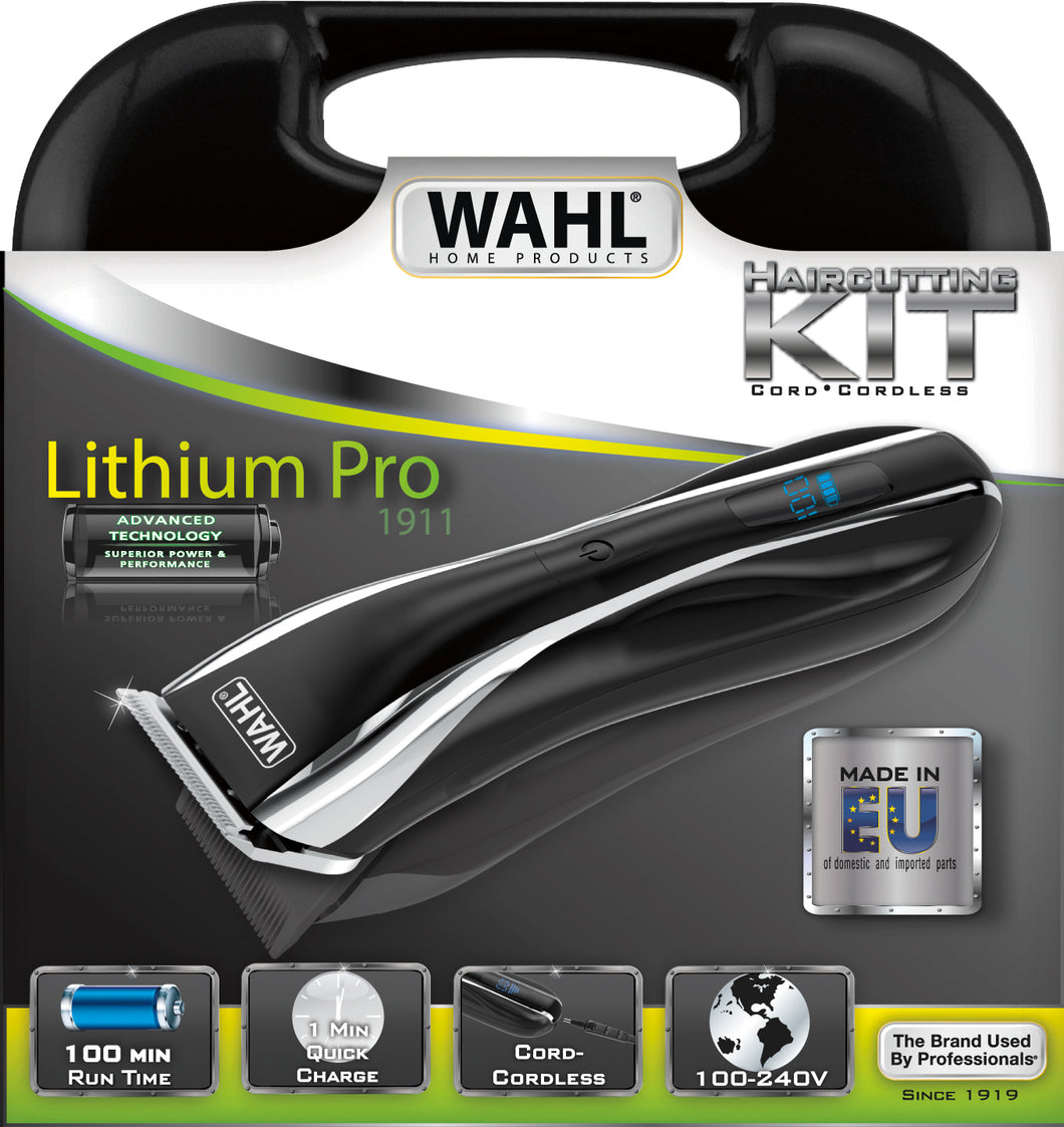 Wahl Lithium Pro LCD Clipper