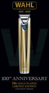 Wahl Stainless Steel Pro Gold 100th Anniversary Edition