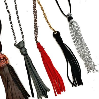 Tassel Necklace Varieties