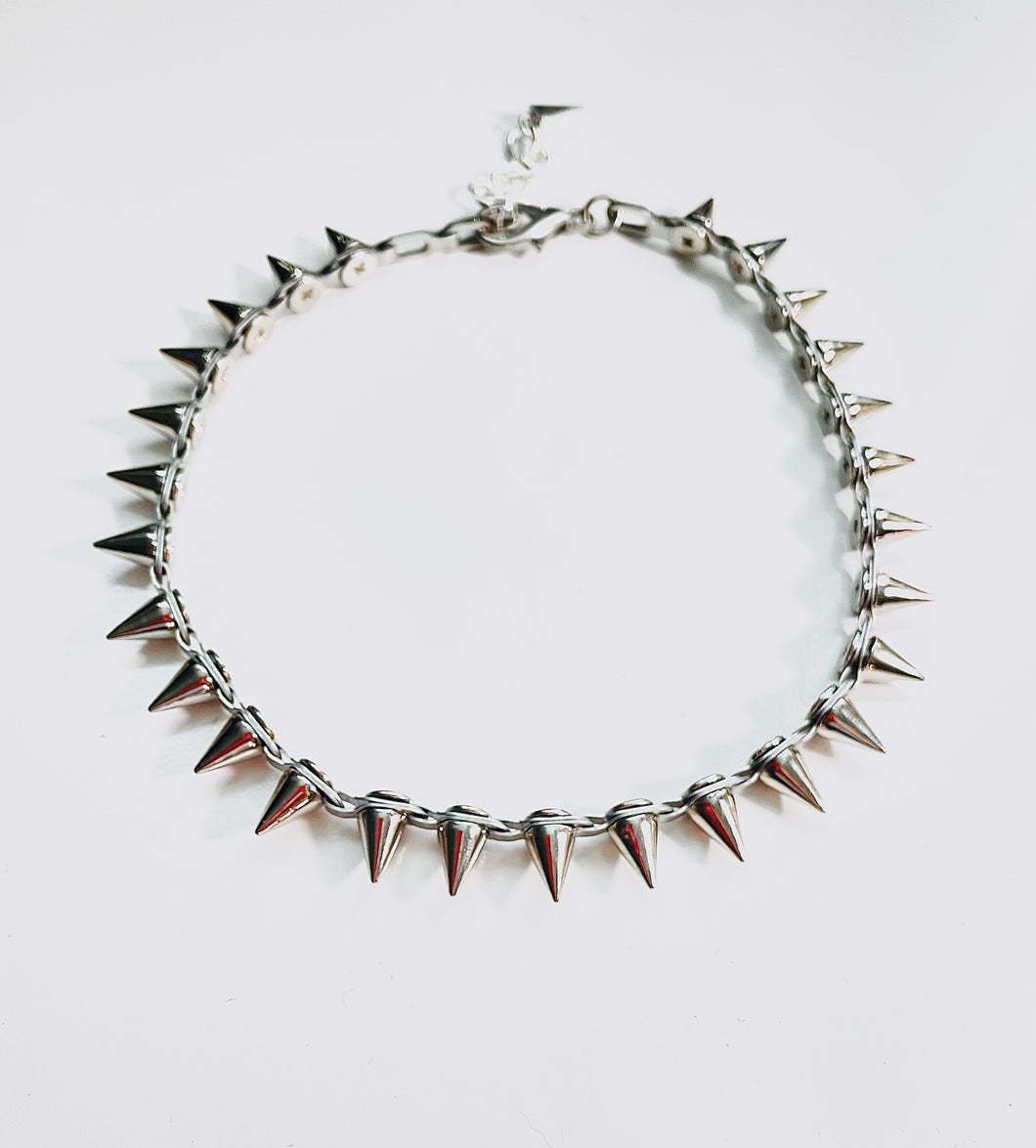 Axl Choker/Necklace in Silver