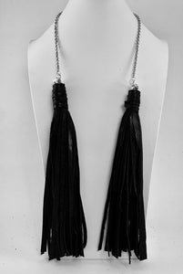 Double Tassel 'Multi Style' Necklace