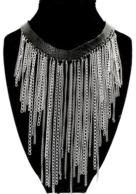 Chain 'Fringe Style' Necklace