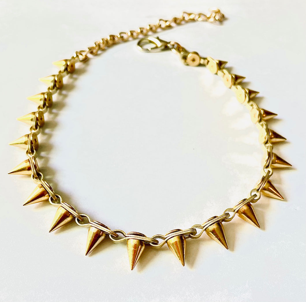 Axl Choker/ Necklace in Gold