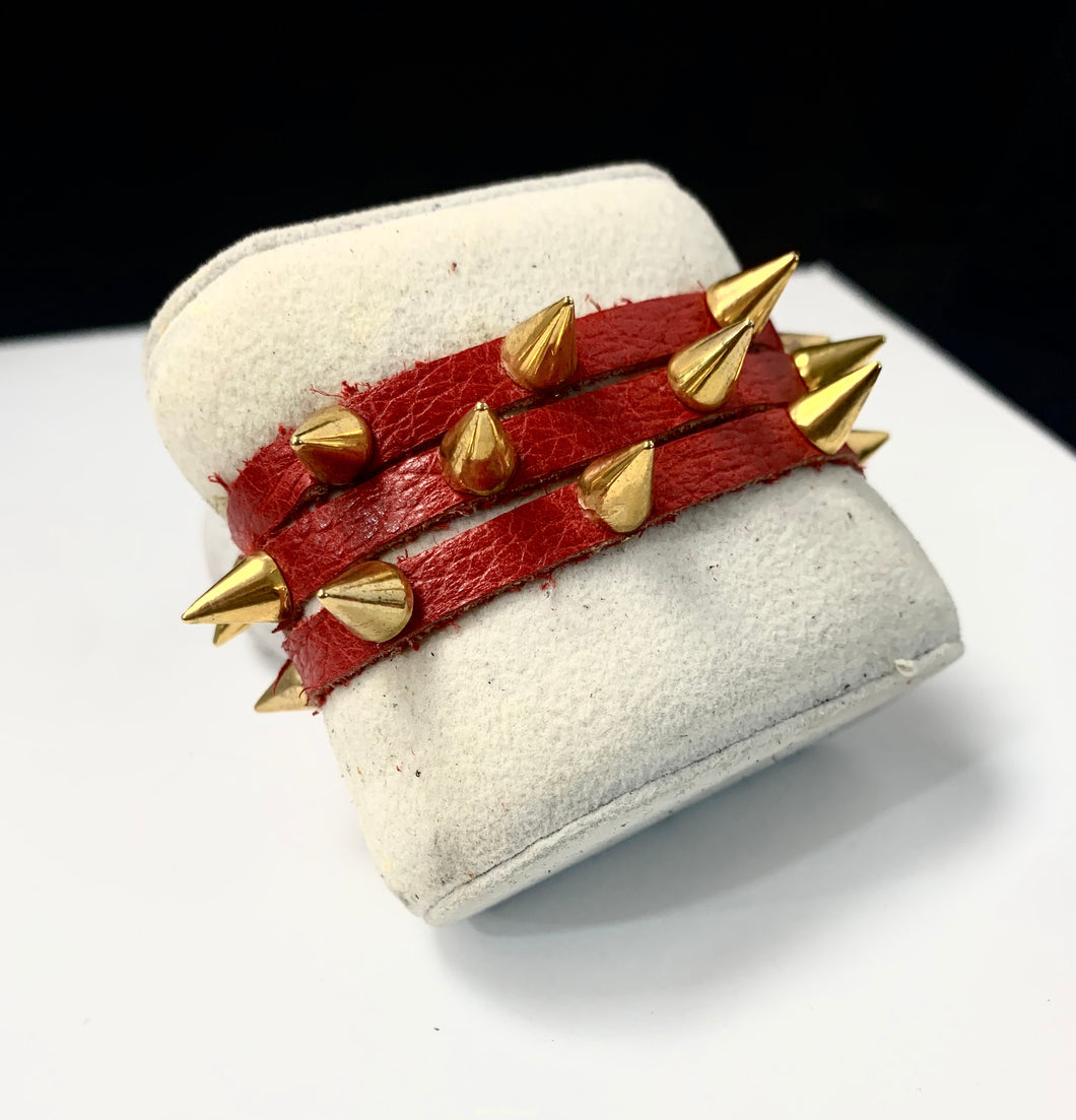 Amy Leather Cuff Bracelet